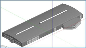 3D modelling for industrial buildings